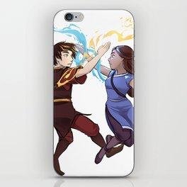 Zutara iPhone Skin