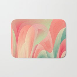 Abstract color harmony Bath Mat