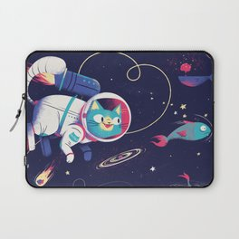 The Adventures of Space Cat Laptop Sleeve
