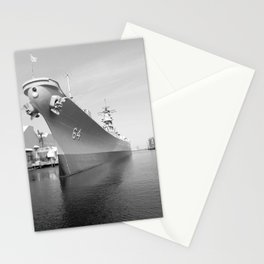 USS WISCONSIN photography Stationery Cards