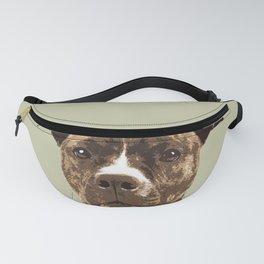 Dog Breeds_Pit bull. Fanny Pack