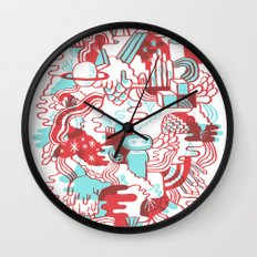 Space Deluxe Wall Clock