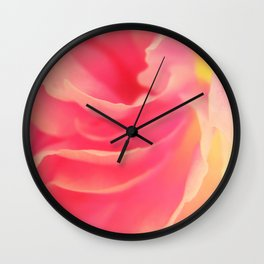 Curling blossom Wall Clock