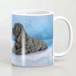 English Cocker Spaniel puppy, Drawing Coffee Mug