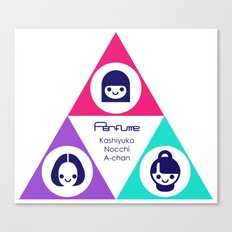 Perfume unofficial T-Shirt Canvas Print