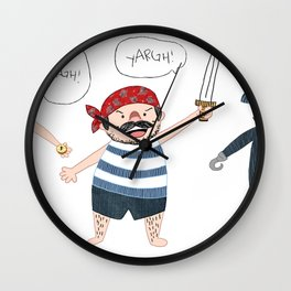 The Three Shipmates Wall Clock