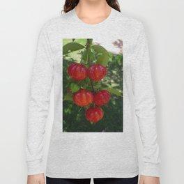 Fruta Pitangas Brasileiras !! Long Sleeve T-shirt