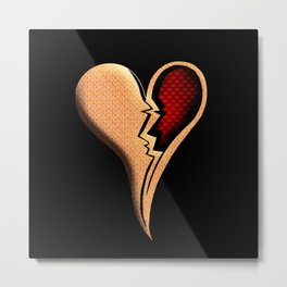Heart Break HD by JC LOGAN 4 Simply Blessed Metal Print