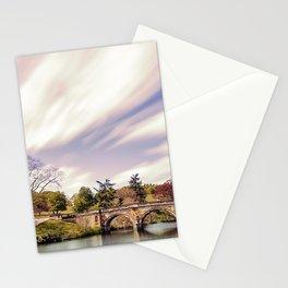 Paine`s Bridge, Chatsworth, Derbyshire, UK. Stationery Cards