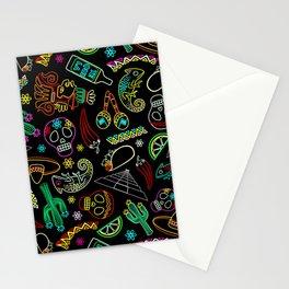 Mexico Fiesta Dia De Los Muertos Stationery Cards
