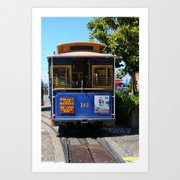 Trolley Car Art Print