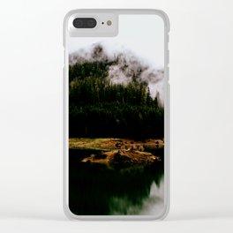 Woken Wild Clear iPhone Case