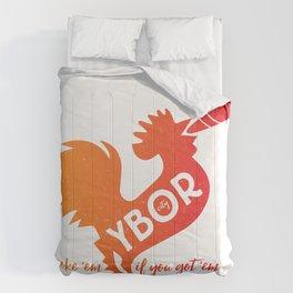 Ybor City | smoke 'em if you got 'em Comforters