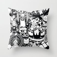 Dooome Throw Pillow