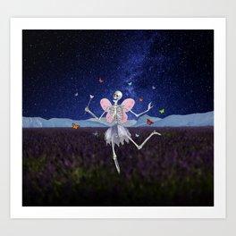 The Death Fairy Art Print