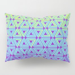 Toxic Revenger Geometric Pillow Sham