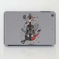 """bass iPad Cases featuring """"WALKING BASS"""" by Chamuko"""
