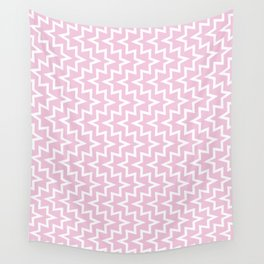 Sea Urchin - Light Pink & White #320 Wall Tapestry