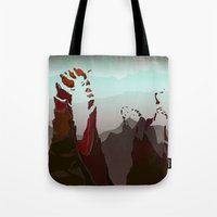 occult Tote Bags featuring Occult Summit by Sean Thomas McDowell