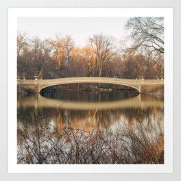 Bow Bridge Last Day Art Print