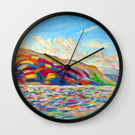 Peachland Trip Wall Clock