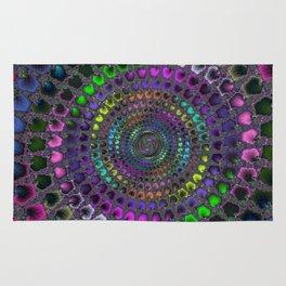 Fractal Mosaic Rug
