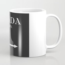 Marfa Mileage Distance Coffee Mug