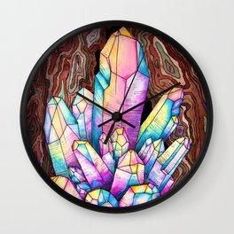 Rainbow Quartz (Gallery Edition) Wall Clock
