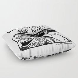 Will Inspire For Kisses Floor Pillow