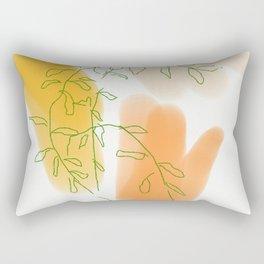 Mama's Mandarine Tree Rectangular Pillow