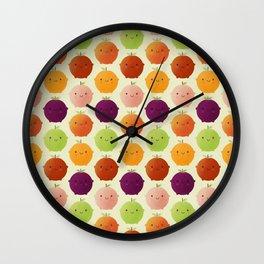 Cutie Fruity (Watercolour) Wall Clock