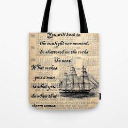Count of Monte Cristo quote Tote Bag