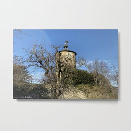 Castella Tower Metal Print
