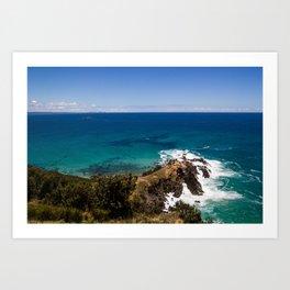 Easterly Coast Art Print
