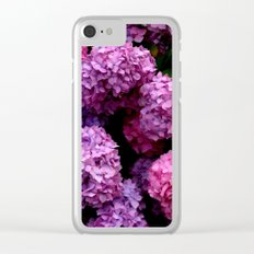 Spring Hydrangeas 4 Clear iPhone Case