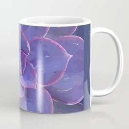 Moody Blues Succulent- by Hxlxynxchxle Coffee Mug