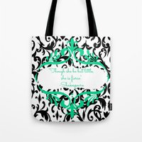 shakespeare Tote Bags featuring Shakespeare  by Jordan Virden