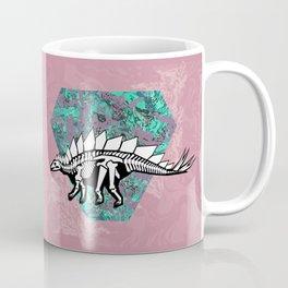 Stegosaur Fossil Coffee Mug