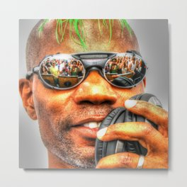 GREEN VELVET - CAMERAS READY..... Metal Print