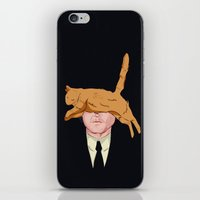 murray iPhone & iPod Skins featuring Cat Murray by Miguel Velez