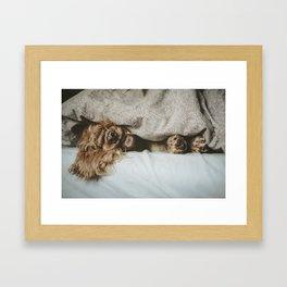 Oh Monday! Framed Art Print