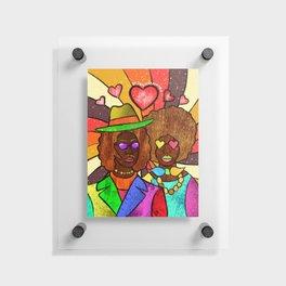 70's Love Floating Acrylic Print