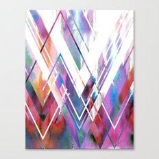 JAX Chevron Canvas Print