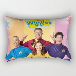 the wiggles party time Rectangular Pillow