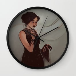 The Narcissist Wall Clock