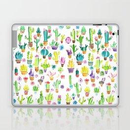 Happy Cactuses Laptop & iPad Skin