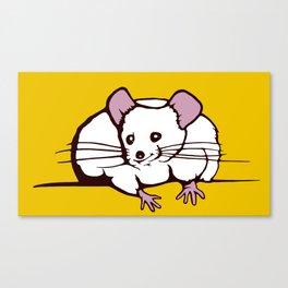 Fat mouse Canvas Print