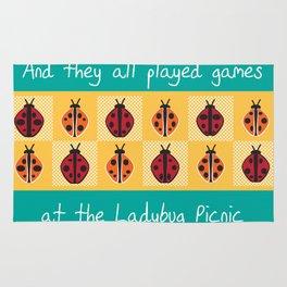 Ladybug Picnic Rug