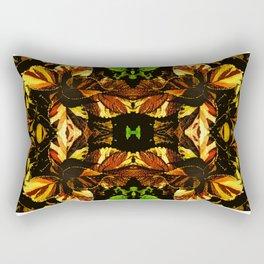 Colorful Coleus Rectangular Pillow