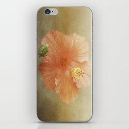 Warm Hibiscus iPhone Skin